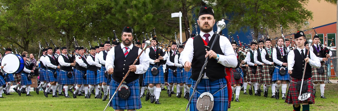 Piping and Drumming Events & Times